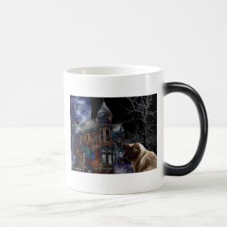 Feline Halloween Mug