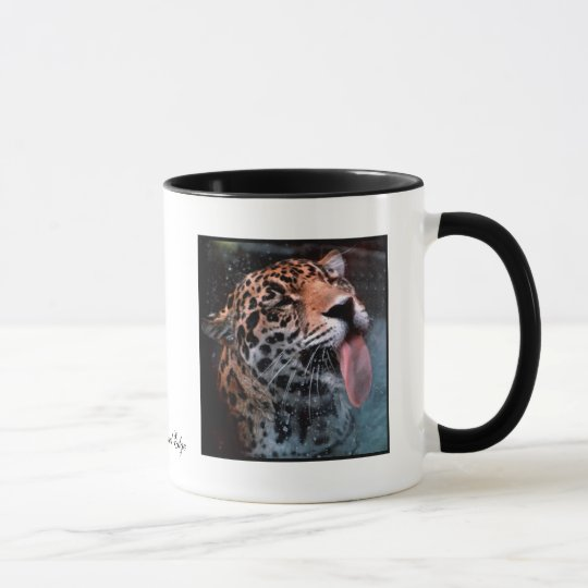 Feline Love Leopard Cat Mug