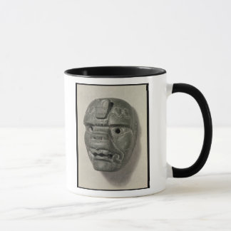 Feline mask of a man, from Oaxaca, Pre-Columbian Mug
