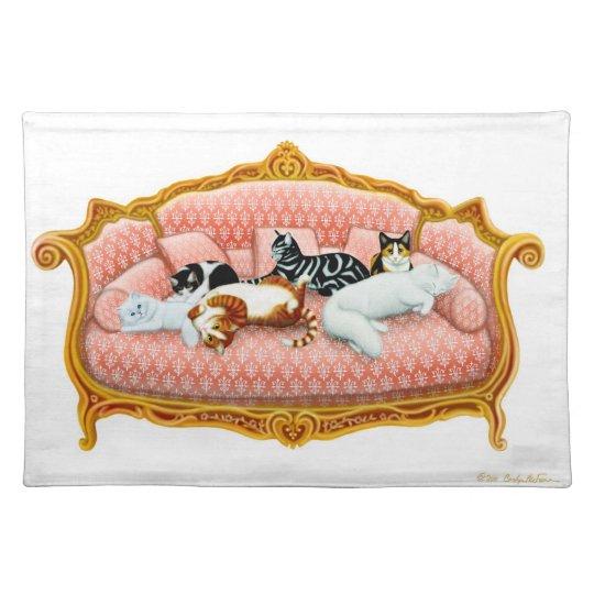 Feline Royalty Cat Placemat