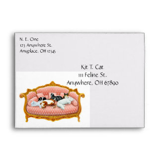 Feline Royalty Envelope