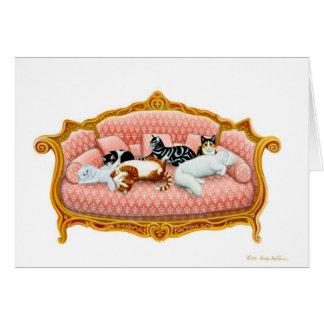 Feline Royalty Greeting Card