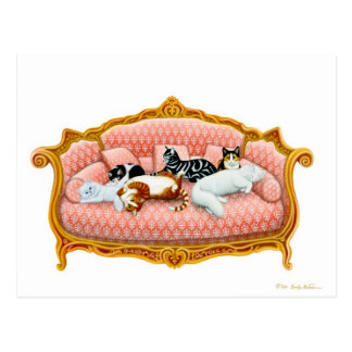 Feline Royalty Postcard