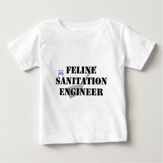 Feline Sanitation Engineer Infant T-shirt