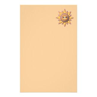 Feline Sunshine Stationary Customized Stationery