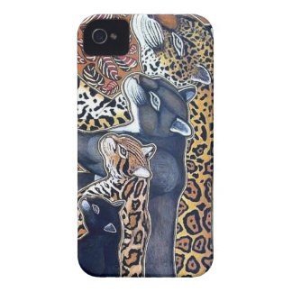 Felines of Costa Rica - Big cats iPhone 4 Case-Mate Case