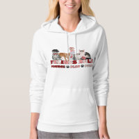 Felines Rule - Cat Lover's Hoodie Sweatshirt