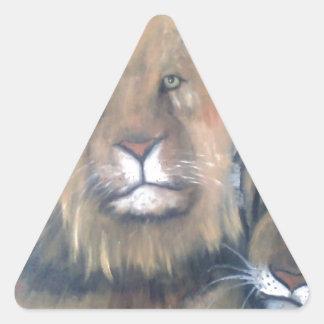 FELINI.jpg Pegatinas De Triangulo