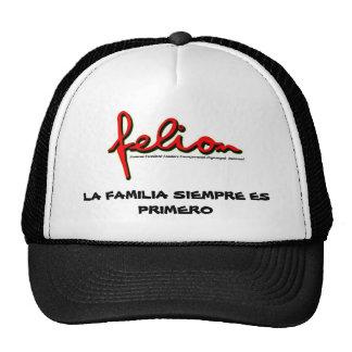 felion logo red and black official, LA FAMILIA ... Trucker Hat