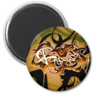 Felipe 2 Inch Round Magnet