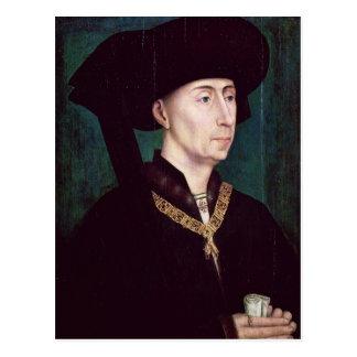 Felipe III le Bon, Duc de Borgoña, c.1445 Postales