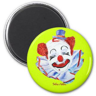 Felix Adler Clown Magnet