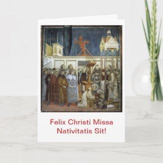 Felix Christi Missa Nativitatis Sit! Scida