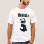Felix de risa la camiseta del gato