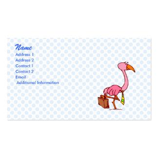 Felix Flamingo Business Card Templates