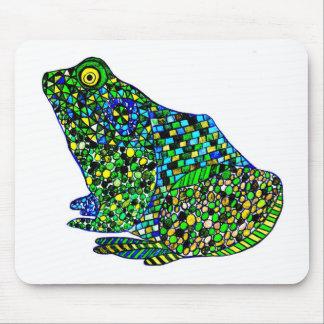 Felix Hip Hop Frog Mouse Pad