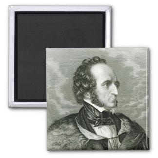 Felix Mendelssohn 2 Imán Cuadrado