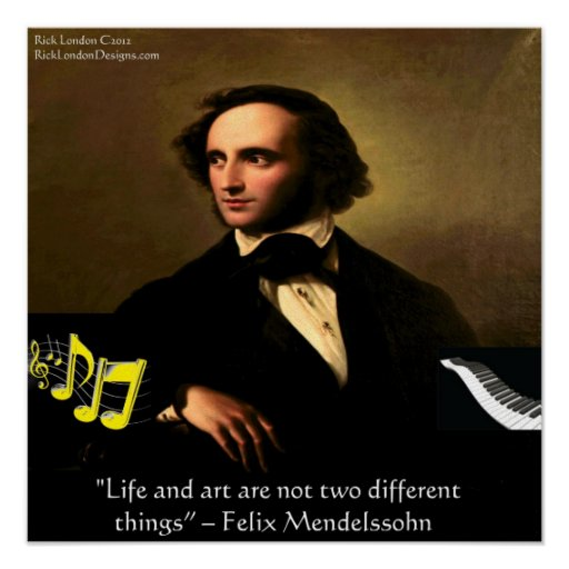 the life and arts career of felix mendelssohn Lea mendelssohn bartholdy (born lea salomon, 1777-1842) was the wife of the banker and arts patron abraham mendelssohn bartholdy a gifted musician in her own right, she was the mother of the composers fanny hensel and felix mendelssohn bartholdy, as well as the singer rebecka dirichlet and the banker and cellist paul mendelssohn-bartholdy.