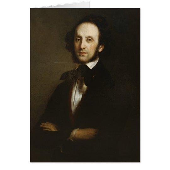 Felix Mendelssohn Card