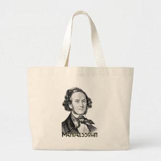 Felix Mendelssohn Large Tote Bag