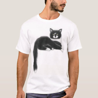 Felix the Black & White Cat T-Shirt