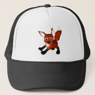 Felix the Cute Cartoon Fox Trucker Hat