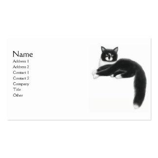 Felix the Tuxedo Cat Business Card