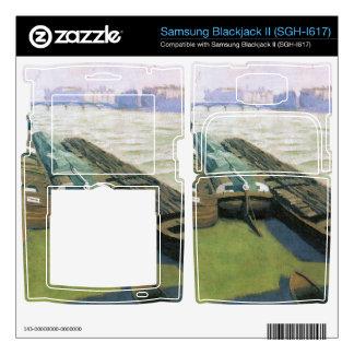 Felix Vallotton - Barges on the banks of the Seine Samsung Blackjack II Skin