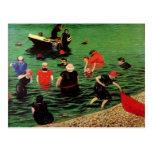 Felix Vallotton : Bathing in Etretat Postcards