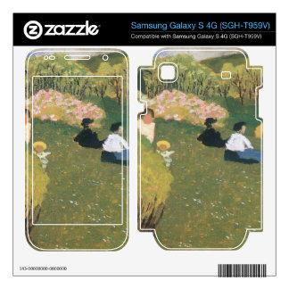 Felix Vallotton - Children at a pond Samsung Galaxy S 4G Skin