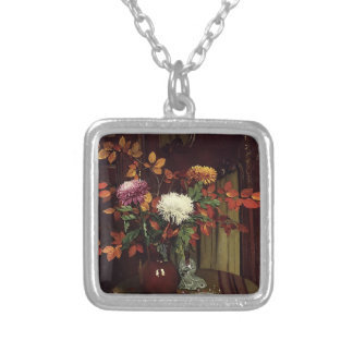 Felix Vallotton -Chrysanthemums and Autumn Foliage Jewelry