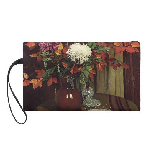Felix Vallotton - crisantemos y follaje del otoño