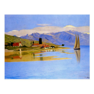 Felix Vallotton - el puerto de polea Postal
