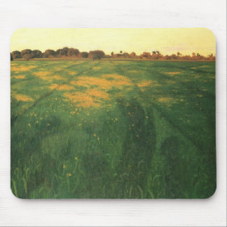Felix Vallotton - Field of green oats Mousepad