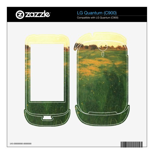 Felix Vallotton - Field of green oats Decal For The LG Quantum
