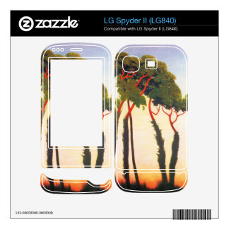 Felix Vallotton - Five Trees Skin For LG Spyder II