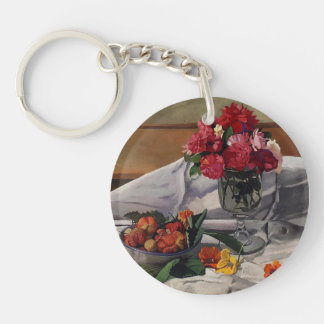 Felix Vallotton - Flowers and Strawberries Acrylic Keychains