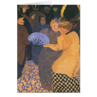 Felix Vallotton - In the music hall Card