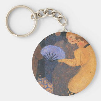 Felix Vallotton - In the music hall Key Chains