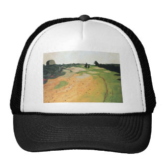 Felix Vallotton - Landscape in Breton Hat
