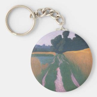 Felix Vallotton - Landscape in Regen Key Chains