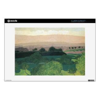 "Felix Vallotton - Landscape in Romanel 13"" Laptop Skin"