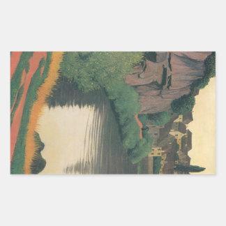 Felix Vallotton - Landscape Semur Rectangular Sticker