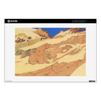 Felix Vallotton - Mountain landscape Decal For Laptop