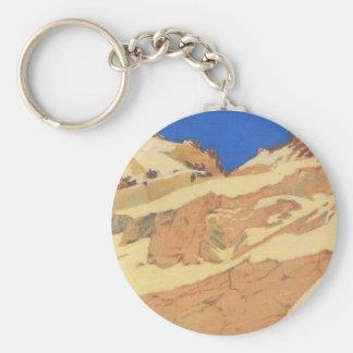 Felix Vallotton - Mountain landscape Keychain