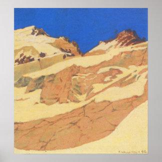 Felix Vallotton-Mountain landscape Poster