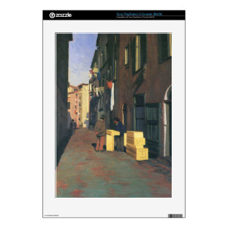 Felix Vallotton - Old street in Nice France Decals For PS3 Console