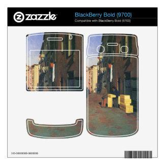 Felix Vallotton - Old street in Nice France Skins For BlackBerry Bold