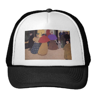 Felix Vallotton - Passerby ,known as Street Scene Trucker Hat