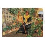 Felix Vallotton - pintura de la mujer joven Felicitaciones